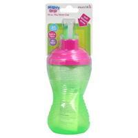 Mighty Grip 10 Oz. Flip Straw Cup