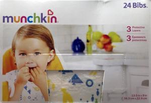 Munchkin Disposable Bibs