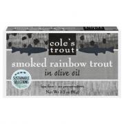 Cole's Smoked Rainbow Trout in Olive Oil