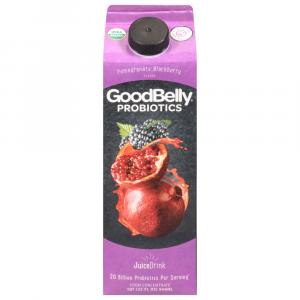Good Belly Probiotic Juice Drink Pomegranate Blackberry