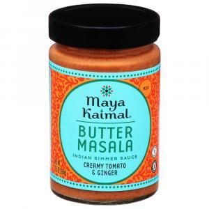 Maya Kaimal Medium Butter Masala Indian Simmer Sauce