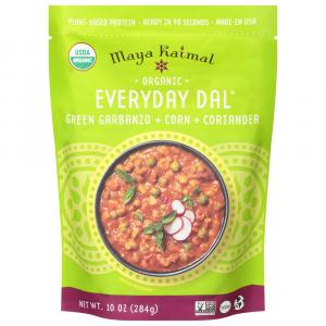 Maya Kaimal Dal Organic Green Garbanzos & Corn & Coriander