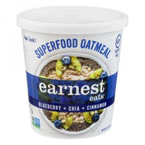 Earnest Eats Superfood Blueberry Chia Gluten Free Cereal