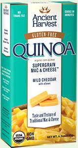 Ancient Harvest Lentil & Quinoa Mac & Cheese Mild Cheddar