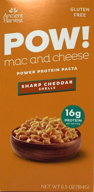Ancient Harvest Pow! Mac And Cheese Sharp Cheddar