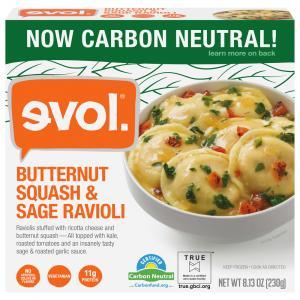 Evol Butternut Squash and Sage Ravioli