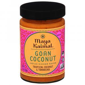 Maya Kaimal Goan Coconut Indian Simmer Sauce Medium