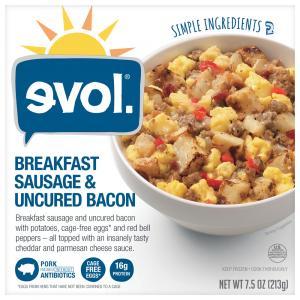 Evol Breakfast Bowl Sausage & Uncured Bacon