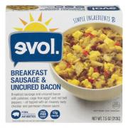 Evol Breakfast Bowl Sausage & Uncured Bacon