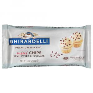 Ghirardelli Mini Semi Sweet Baking Chips