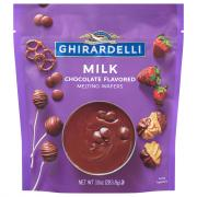 Ghirardelli Milk Chocolate Melting Wafers