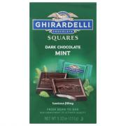 Ghirardelli Dark Chocolate Squares with Mint