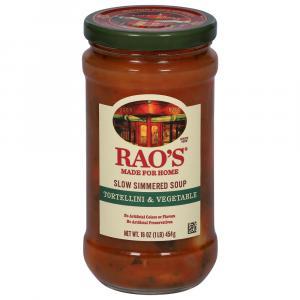 Rao's Italian Style Tortellini & Vegetable Soup