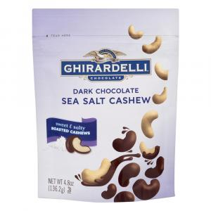 Ghirardelli Dark Chocolate Sea Salt Cashew