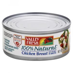 Valley Fresh White Chicken In Water