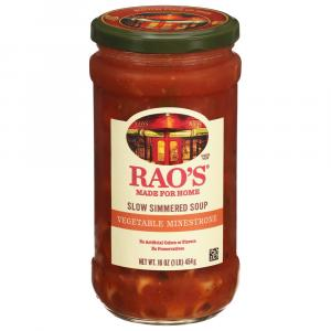 Rao's Italian Style Vegetable Minestrone Simmered Soup