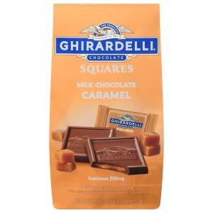 Ghirardelli Milk Chocolate with Caramel Squares