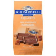 Ghirardelli Milk Chocolate with Caramel Squares