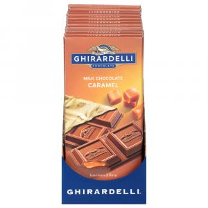 Ghirardelli Prestige Milk Chocolate Bar w/Caramel Filling