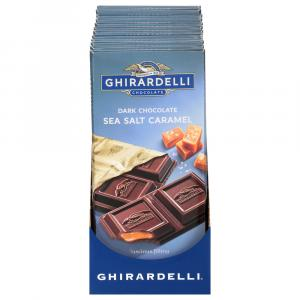 Ghirardelli Dark Chocolate Sea Salt Caramel Bar