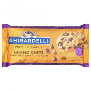 Ghirardelli Grand Semi Sweet Baking Chips