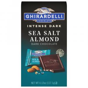 Ghirardelli Sea Salt Soiree Dark Chocolate Square
