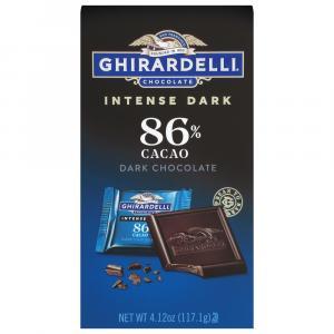 Ghirardelli Squares Midnight Reverie Intense Dark Chocolate
