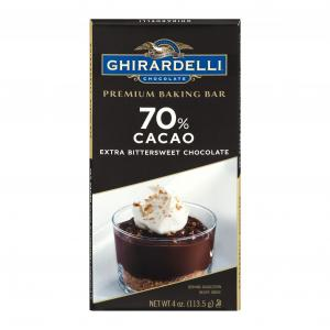Ghirardelli Extra Bittersweet Chocolate Baking Bar