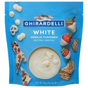 Ghirardelli White Chocolate Melting Waffers