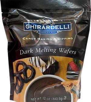 Ghirardelli Dark Candy Making Wafers