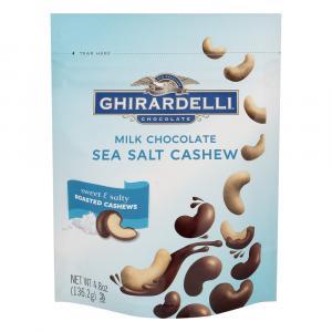 Ghirardelli Milk Chocolate Sea Salt Cashews