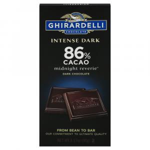 Ghirardelli Intense Dark Midnight Reverie 86% Cacao Bar