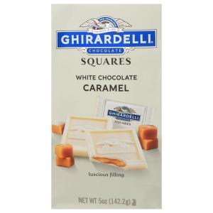 Ghirardelli Squares White Chocolate Caramel