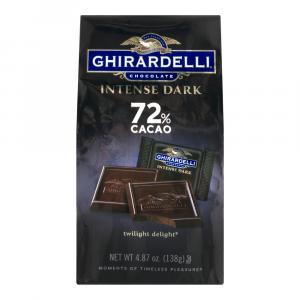 Ghirardelli Twilight Delight 72% Cacao Squares
