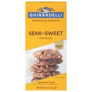 Ghirardelli Semi-Sweet Chocolate Premium Baking Bar