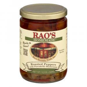 Rao's Roasted Peppers with Portobello Mushrooms