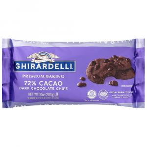 Ghirardelli 72% Cacao Dark Chocolate Chips
