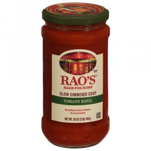 Rao's Italian Style Tomato Basil Simmered Soup