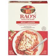 Rao's Meat Lasagna