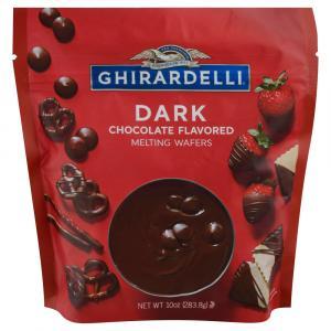 Ghirardelli Dark Chocolate Melting Wafers