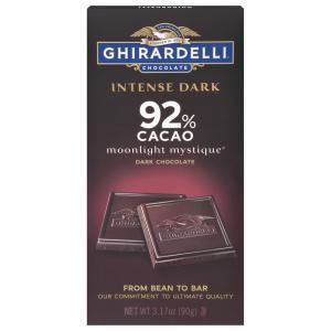 Ghirardelli 92% Intense Dark Moonlight Mystique Bar