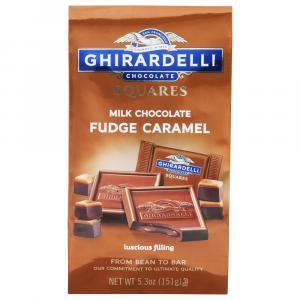 Ghiraradelli Milk Chocolate Fudge Caramel Squares