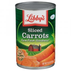Libby's Sliced Carrots