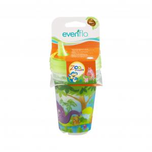 Evenflo Zoo Friends Sippy Cups