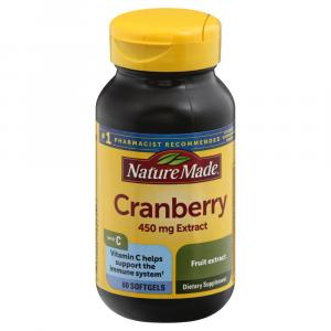 Nature Made Super Strength Cranberry with Vitamin C