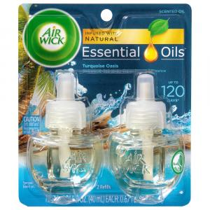 Air Wick Turquoise Oasis Scented Oil Refill