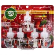Air Wick Essential Oils Scented Oil Refills Apple Cinnamon