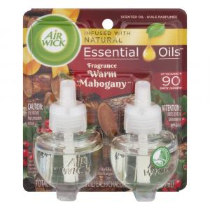 Air Wick Scented Oil Warm Mahogany Refill