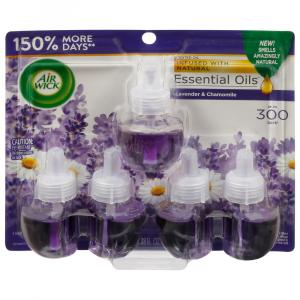 Air Wick Lavender & Chamomile Scented Oil Refills
