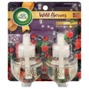 Air Wick Scented Oil Berry Twin Refill